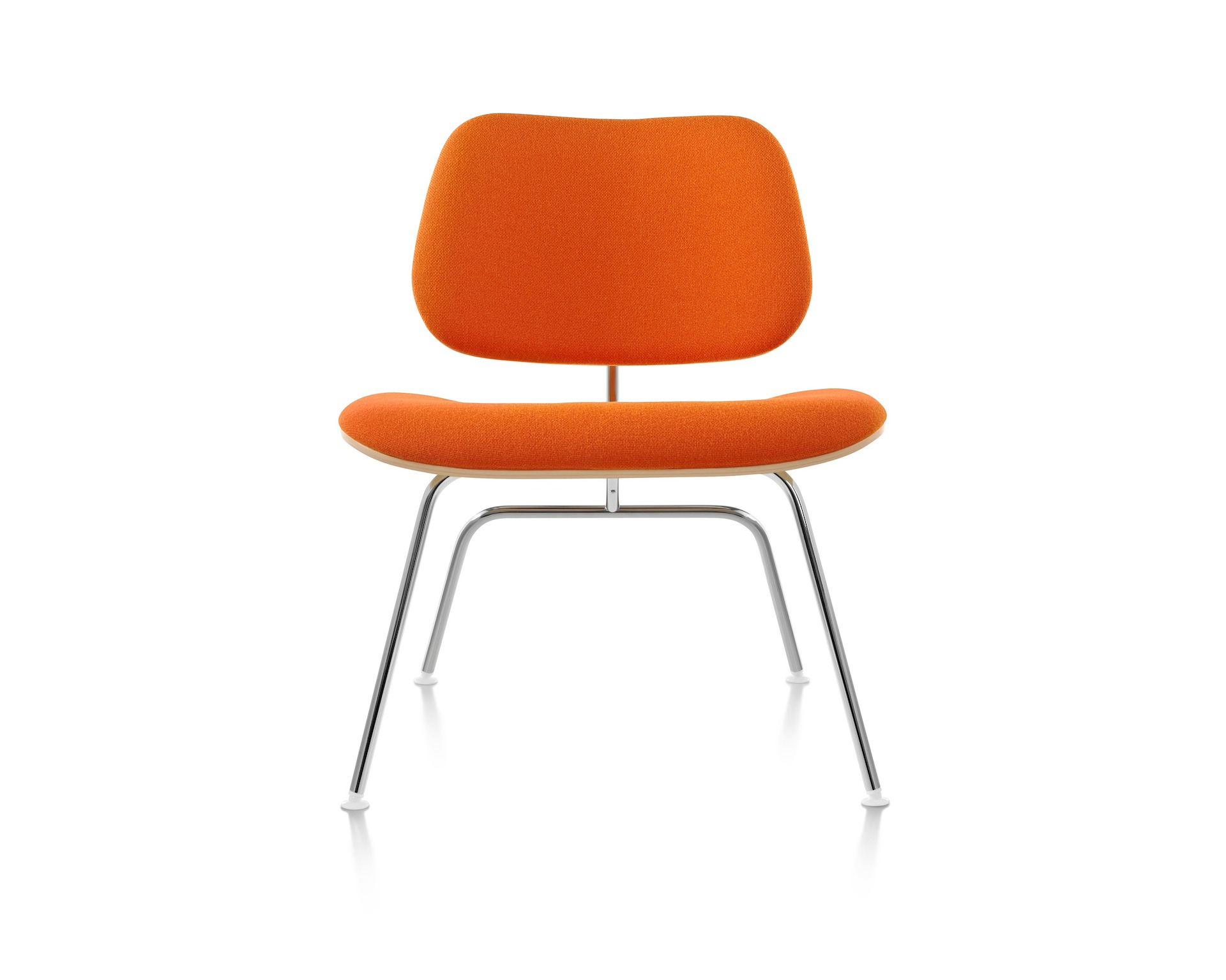 Eames Molded Plywood Lounge Chair, Upholstered