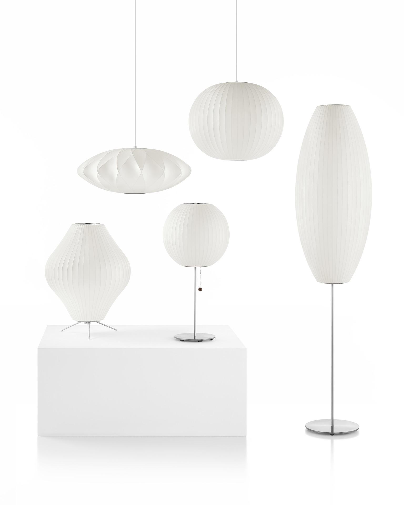Nelson Pear Floor Lamp