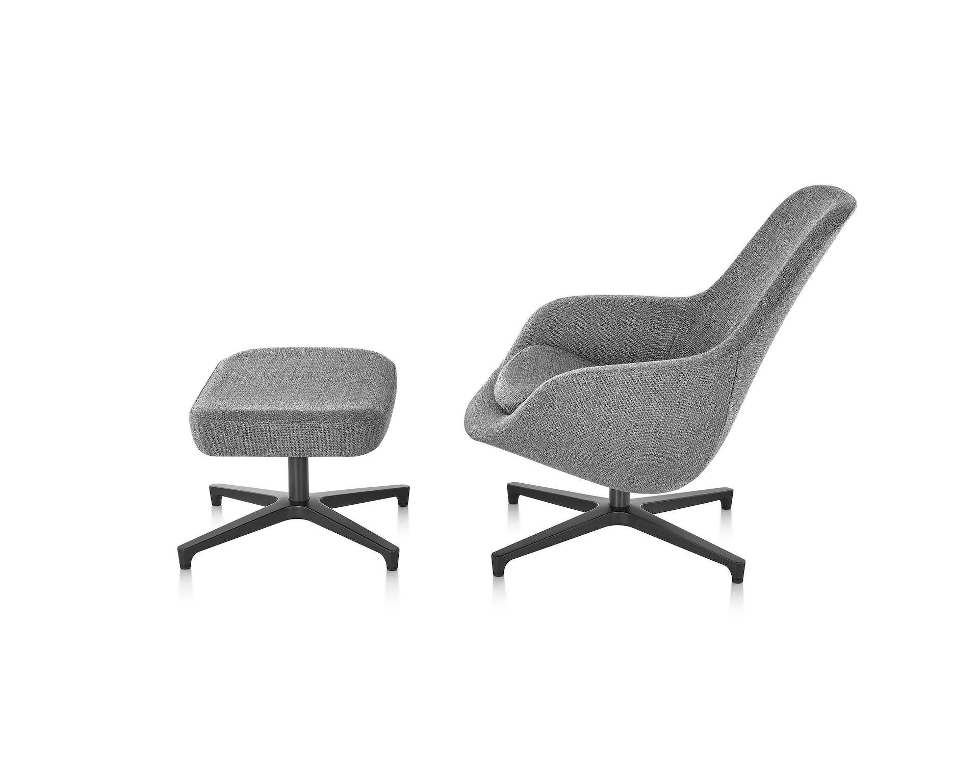 Saiba Lounge Chair And Ottoman