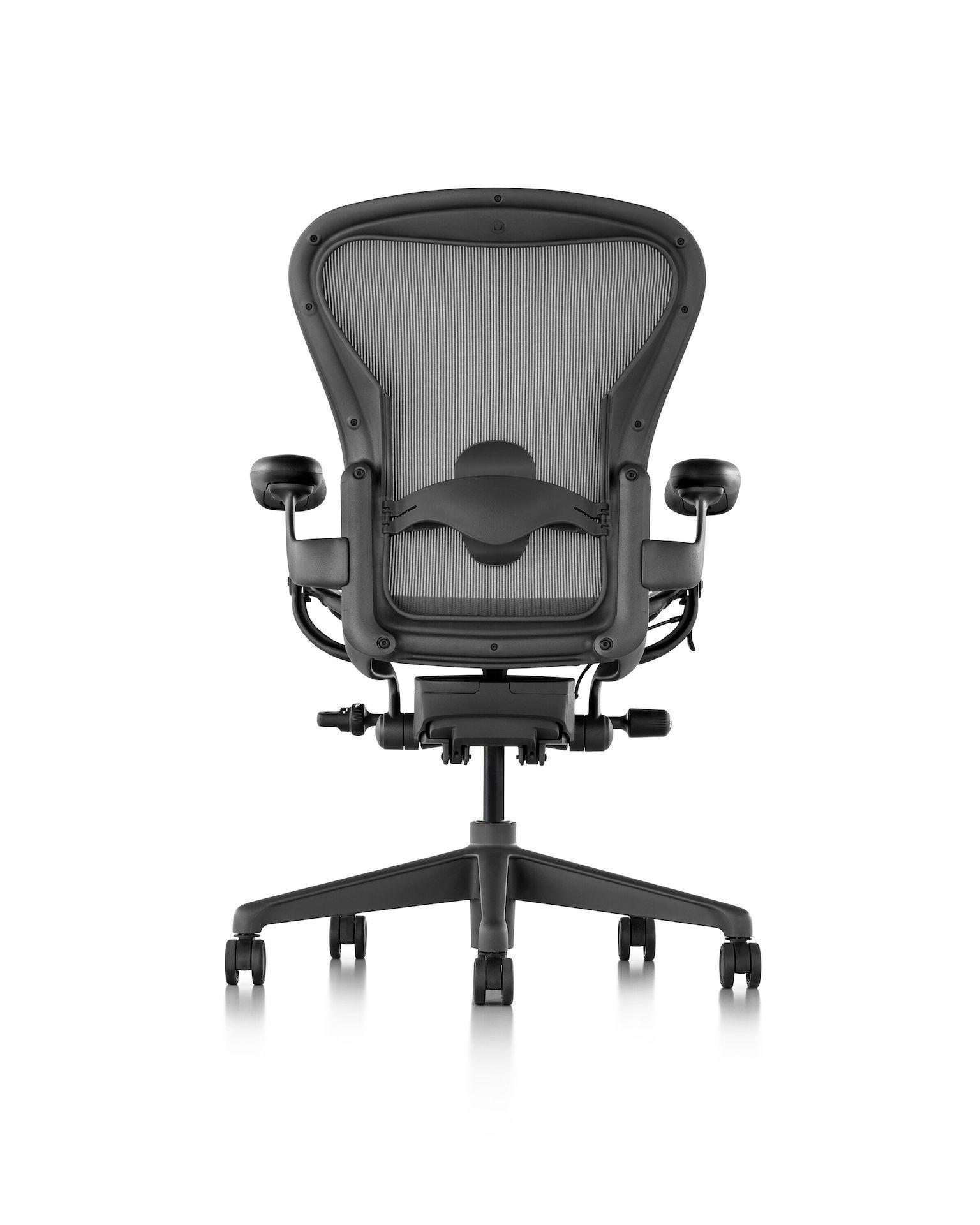 Aeron Chair, Adjustable Lumbar Support - Herman Miller