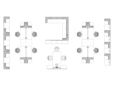 A line drawing viewed from above - Clubhouse 006