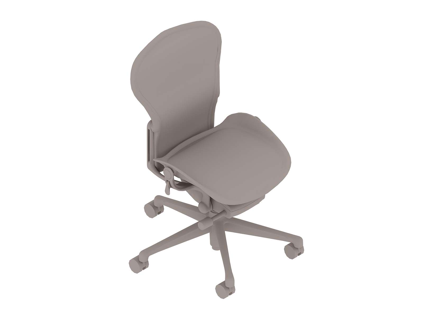 A generic rendering - Aeron Chair–A Size–Armless
