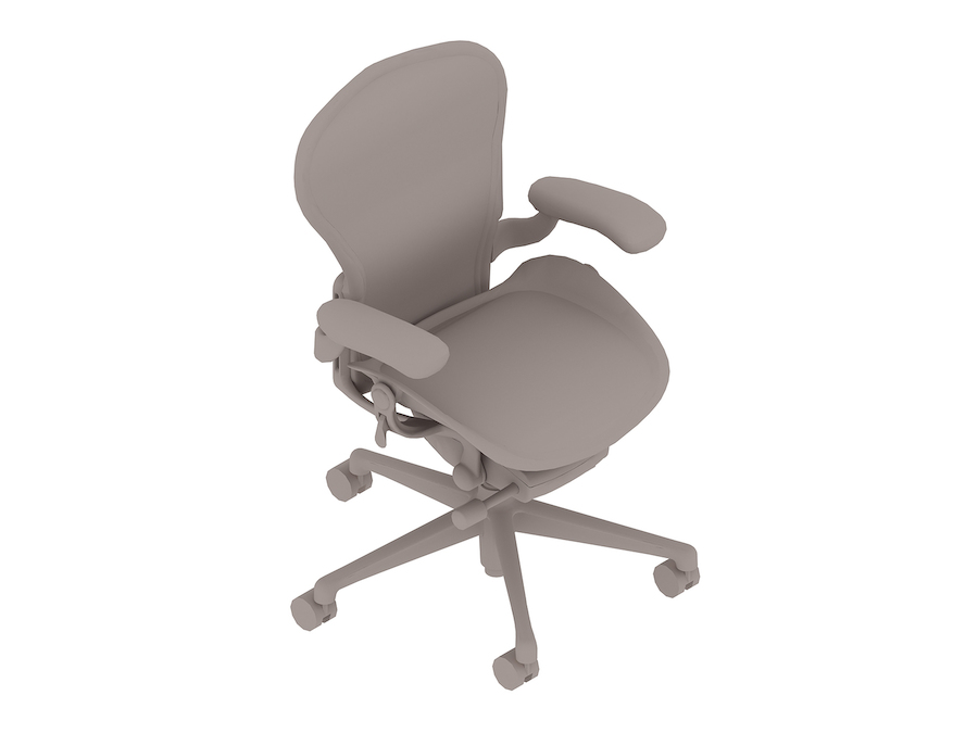 A generic rendering - Aeron Chair–A Size–Fixed Arms