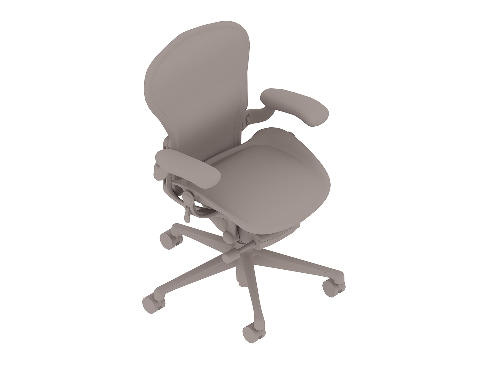 A generic rendering - Aeron Chair–A Size–Fully Adjustable Arms