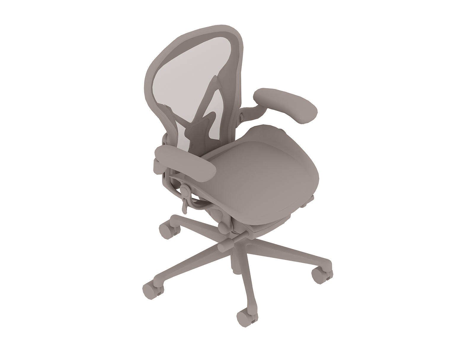 A generic rendering - Aeron Chair–A Size–Height Adjustable Arms