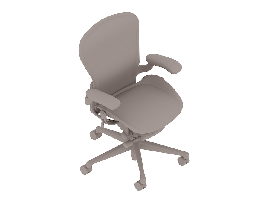 A generic rendering - Aeron Chair–B Size–Fixed Arms