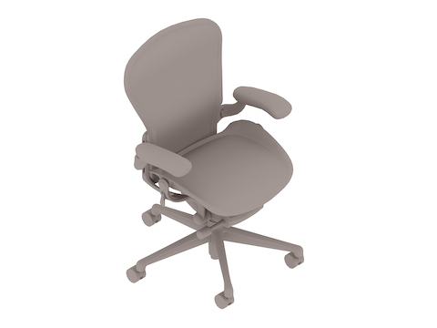 A generic rendering - Aeron Chair–B Size–Fully Adjustable Arms