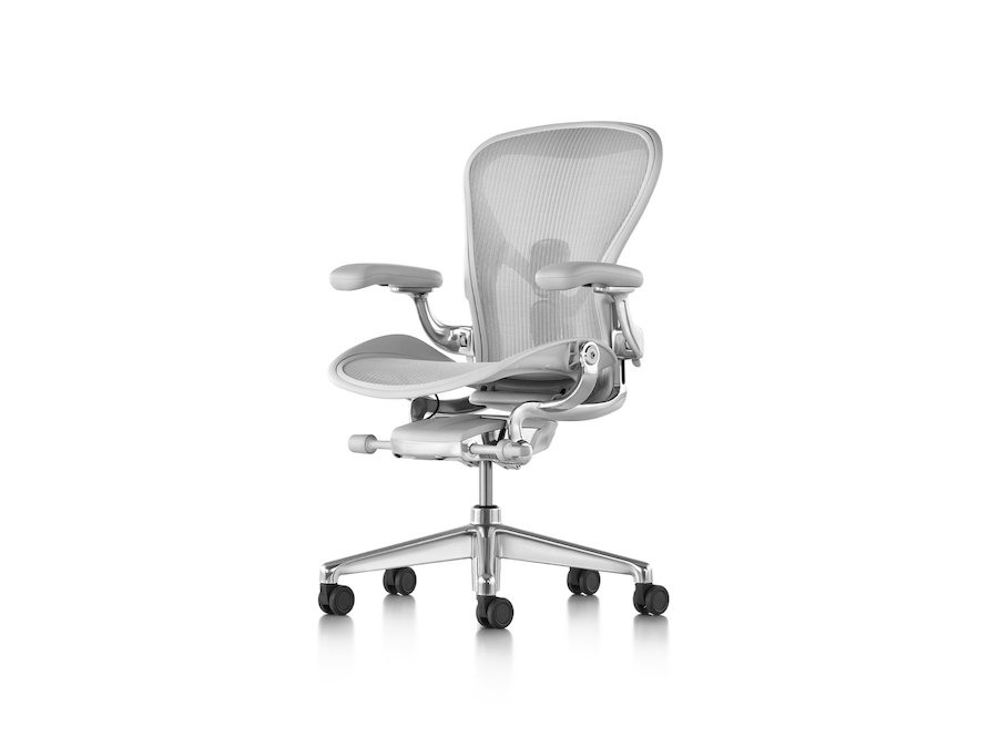 A photo - Aeron Chair–B Size–Fully Adjustable Arms