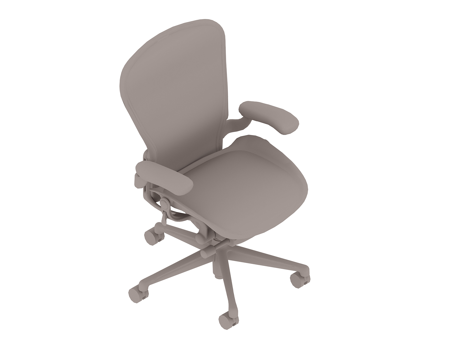 A generic rendering - Aeron Chair–C Size–Fixed Arms