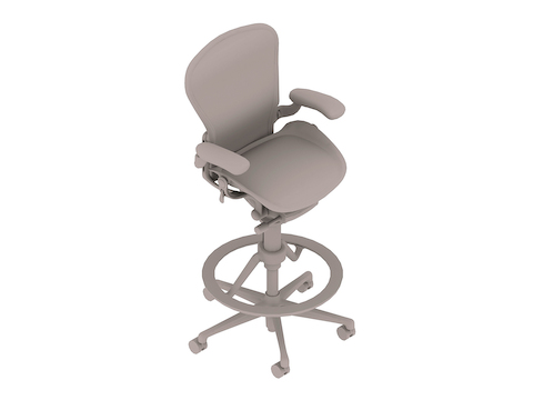 A generic rendering - Aeron Stool–High