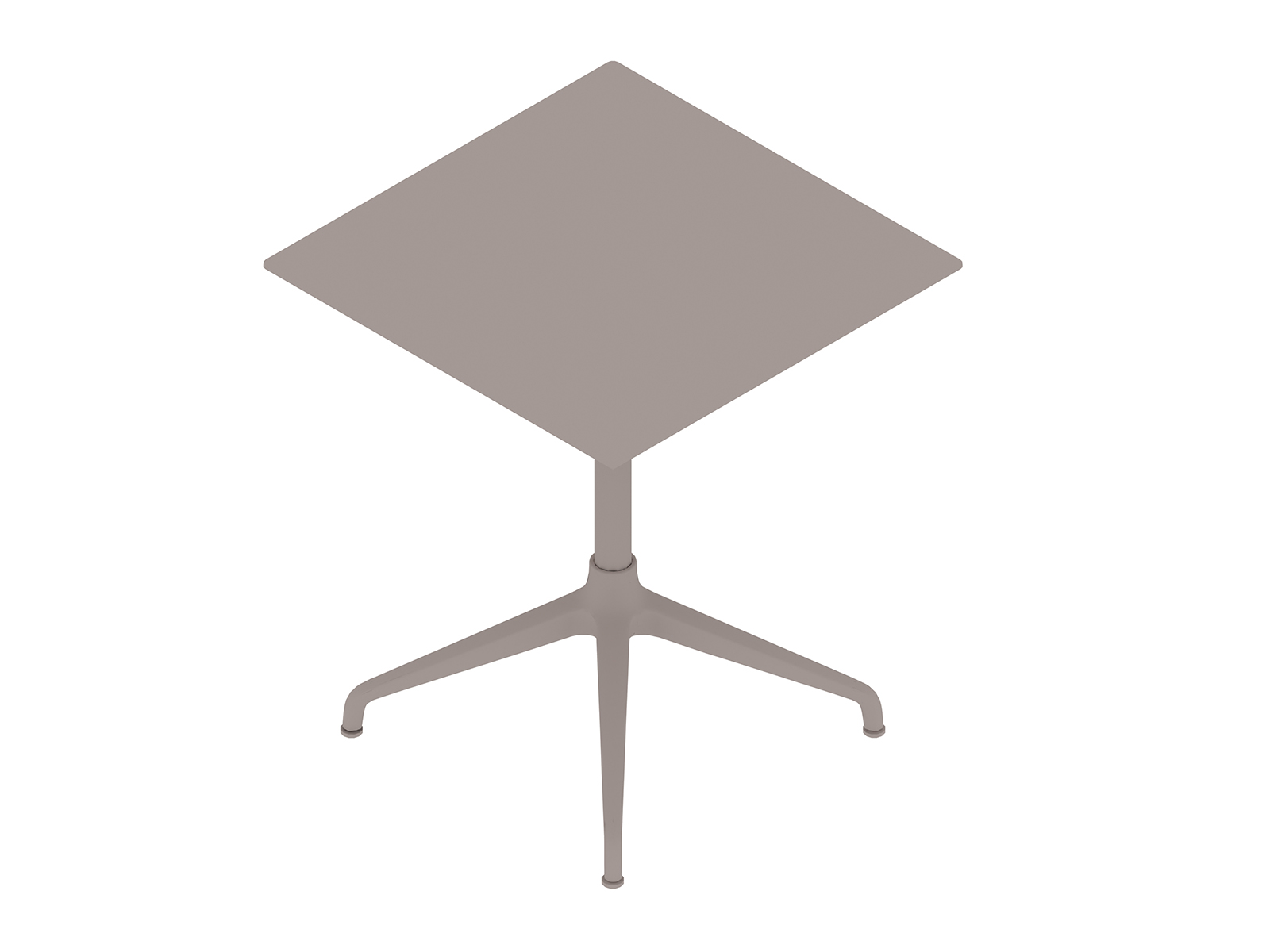 A generic rendering - Ali Café Table–Square