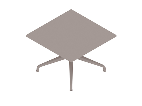A generic rendering - Ali Coffee Table–Square