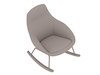 Always Lounge Chair–Rocker Base
