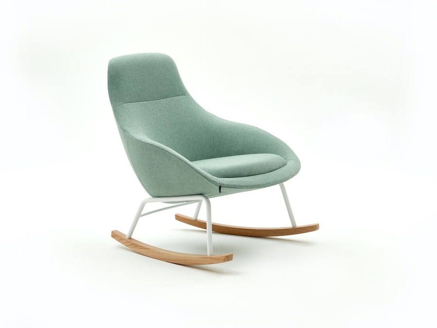 A photo - Always Lounge Chair–Rocker Base