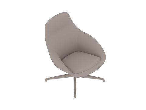 A generic rendering - Always Lounge Chair–Swivel Base