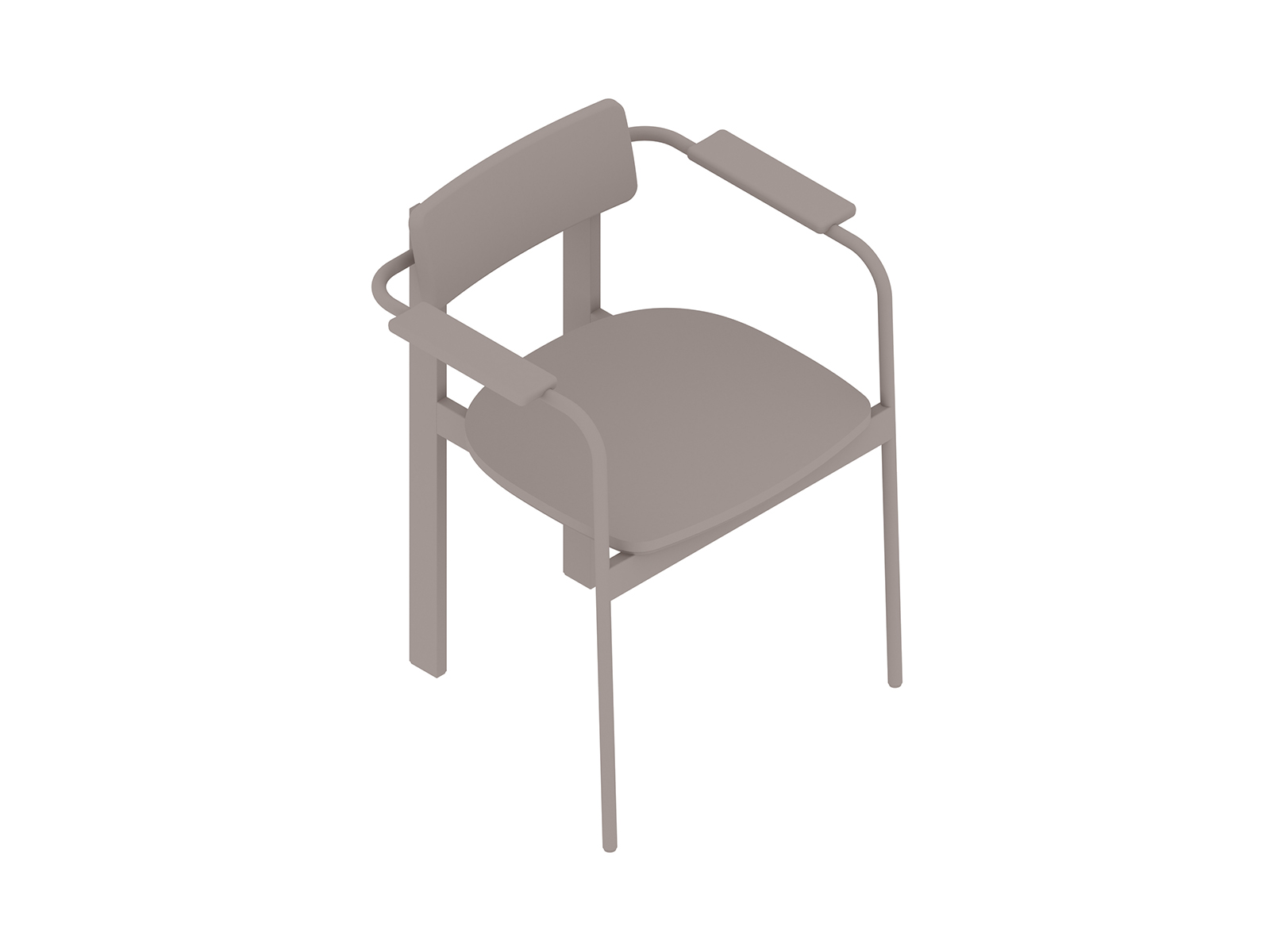 A generic rendering - Betwixt Chair–With Arms–Wood