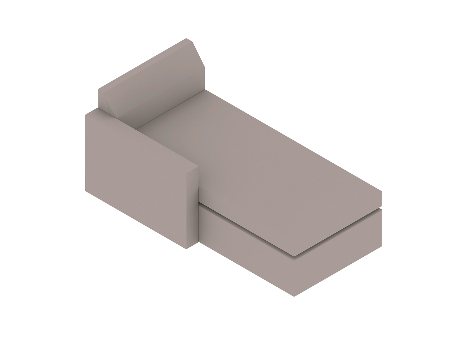 A generic rendering - Bevel Chaise
