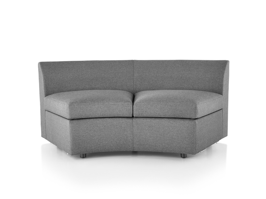 A photo - Bevel Curved Settee–Inside Curve