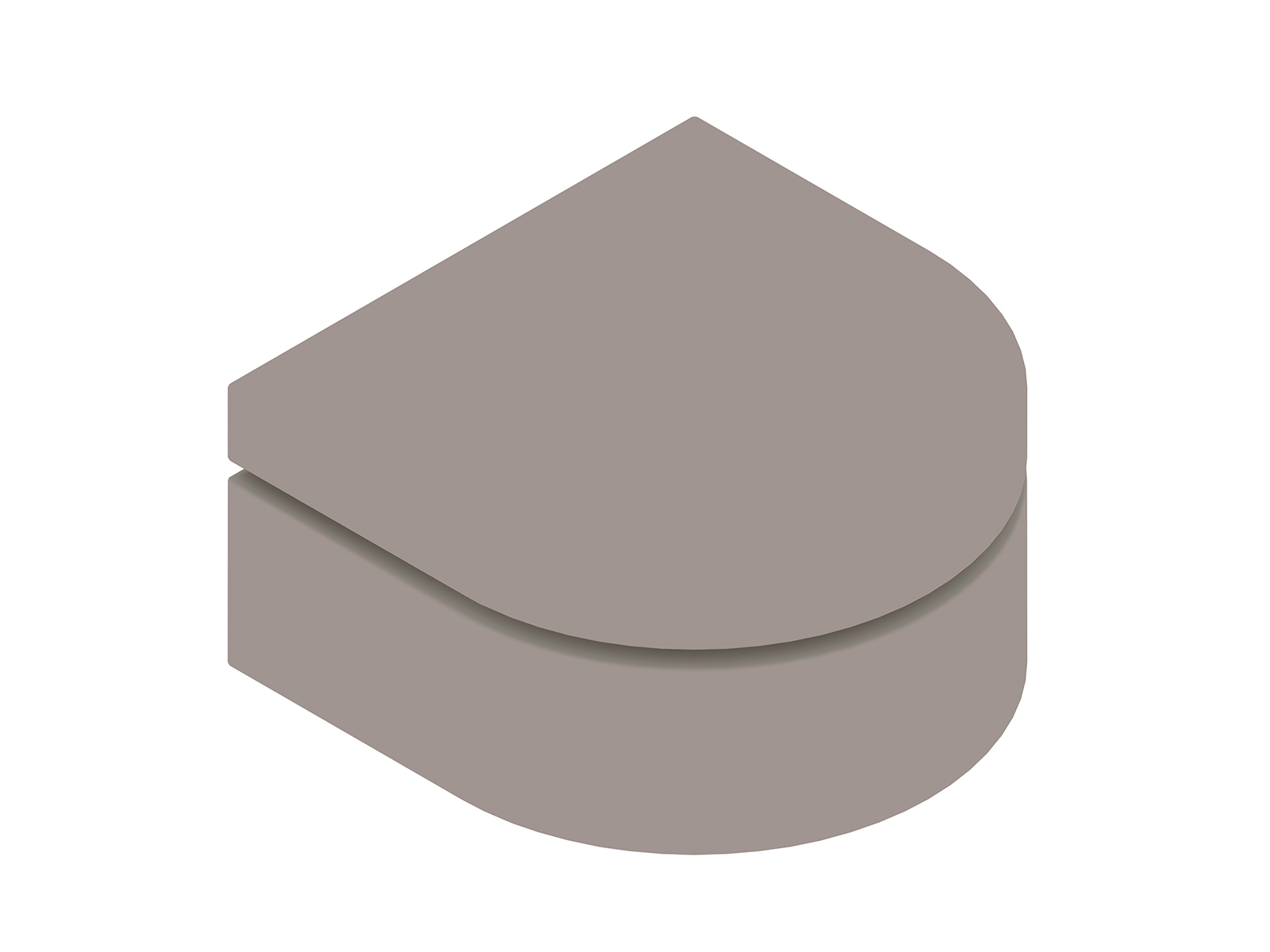 A generic rendering - Bevel Ottoman–Rounded