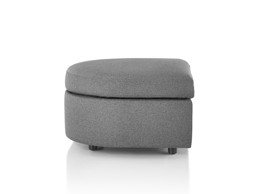 A photo - Bevel Ottoman–Rounded