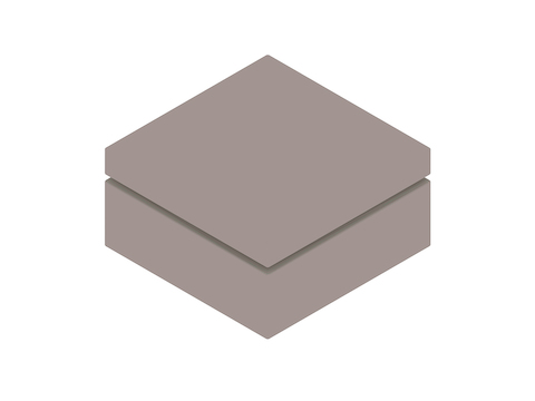 A generic rendering - Bevel Ottoman–Square