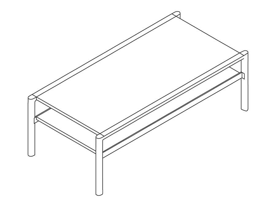 A line drawing - Brabo Table