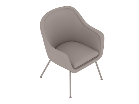 A generic rendering - Bumper Side Chair