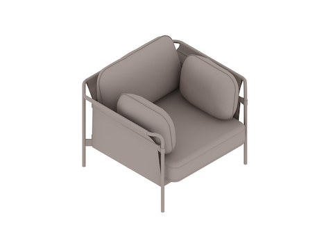 A generic rendering - Can Lounge Chair