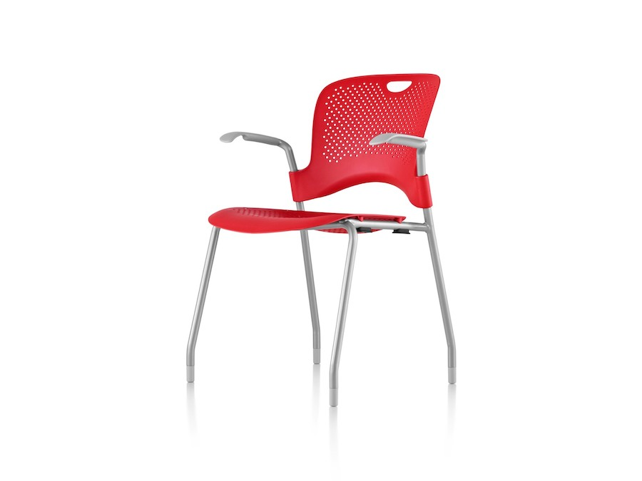 A photo - Caper Stacking Chair–Fixed Arms