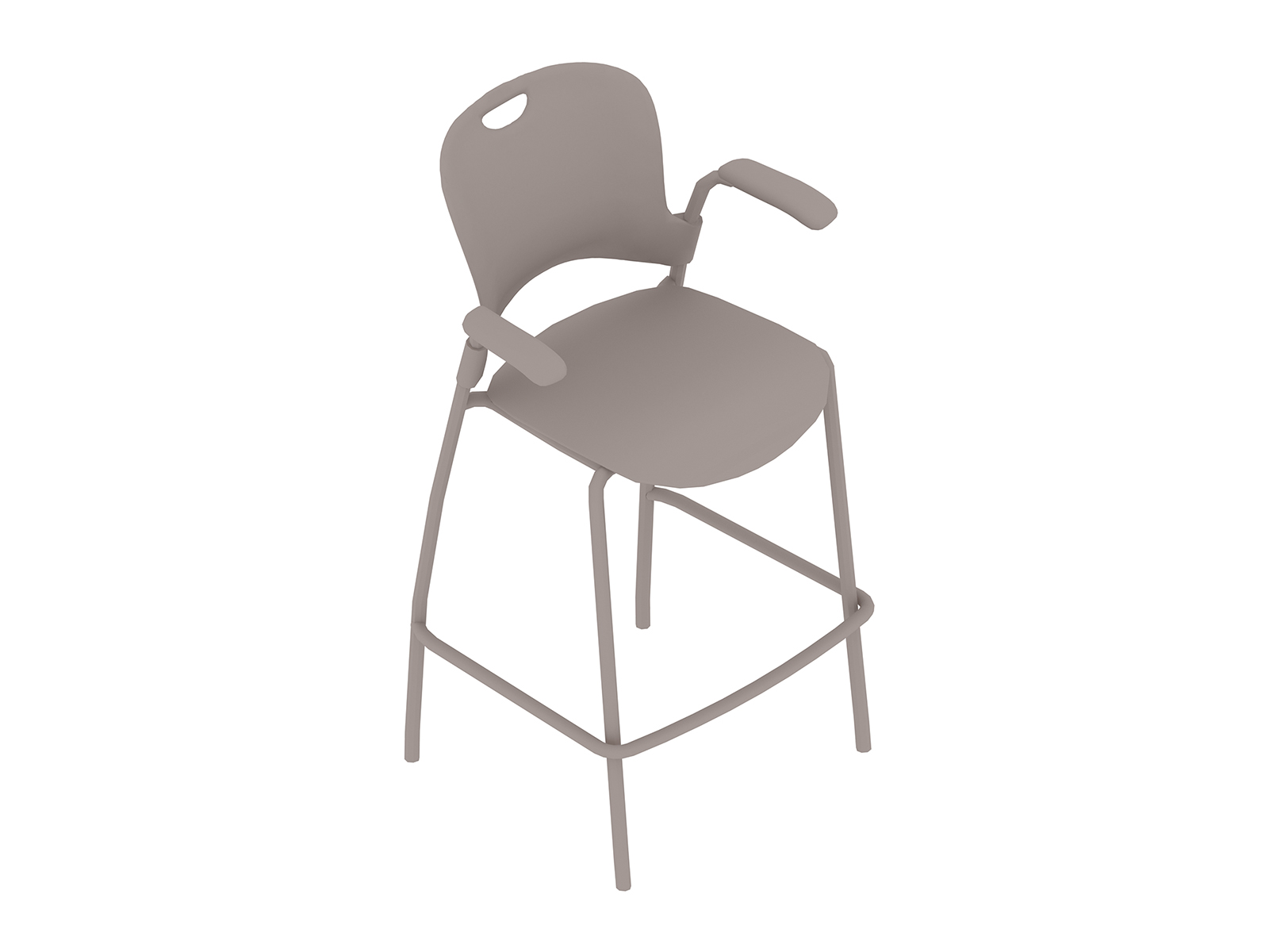 A generic rendering - Caper Stacking Stool–Bar Height