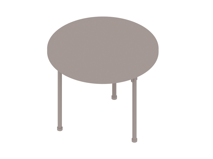 A generic rendering - Claw Table – Round