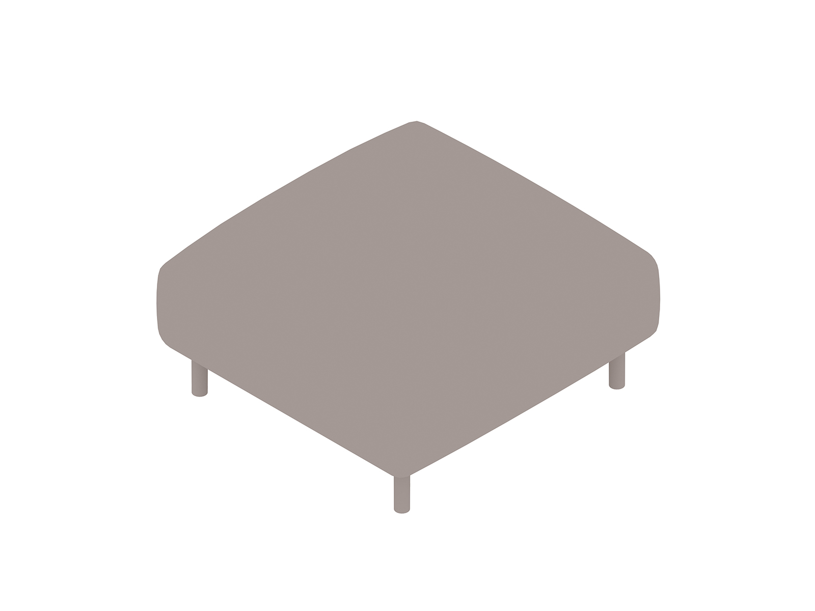 A generic rendering - ColourForm Ottoman