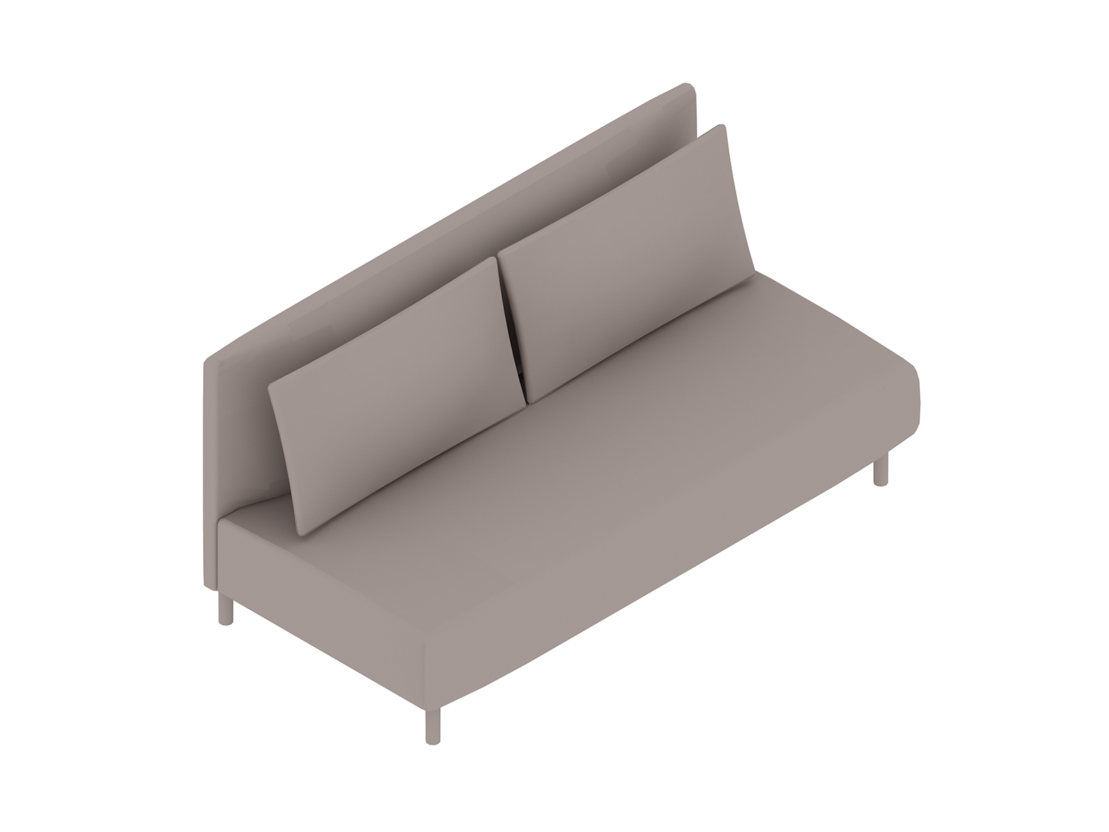 A generic rendering - ColourForm Sofa–2 Seat–Armless
