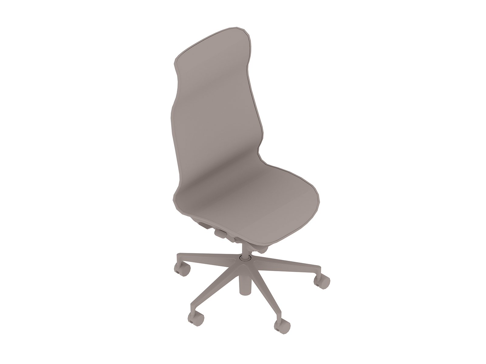 A generic rendering - Cosm Chair–High Back–Armless