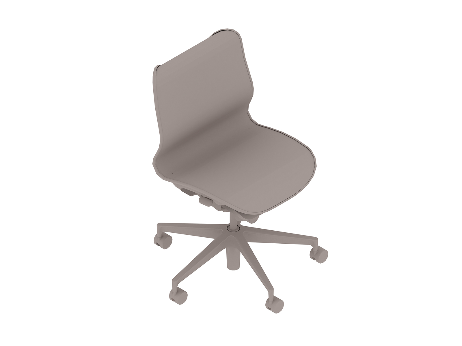 A generic rendering - Cosm Chair–Low Back–Armless