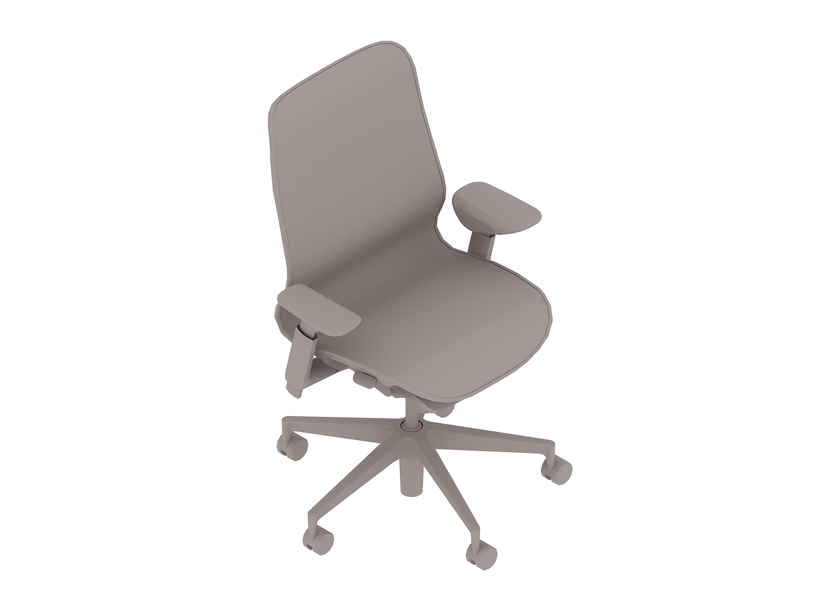 A generic rendering - Cosm Chair–Mid Back–Height Adjustable Arms