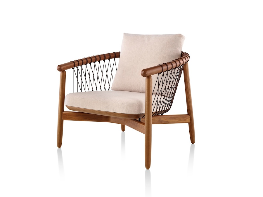 A photo - Crosshatch Lounge Chair