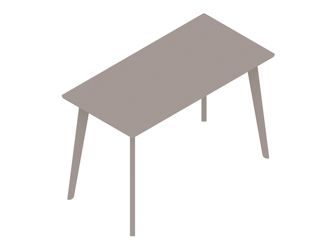 A generic rendering - Dalby Bar-Height Table