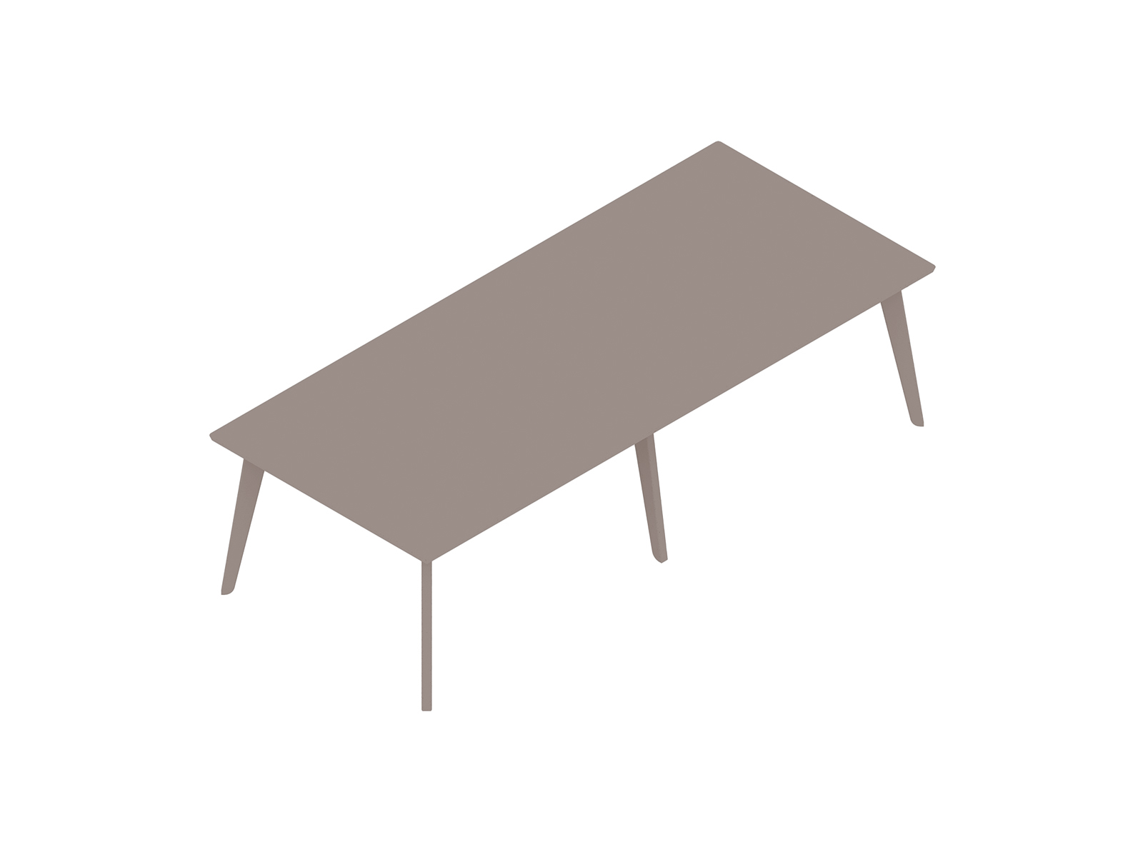 A generic rendering - Dalby Conference Table–Rectangular–6 Leg