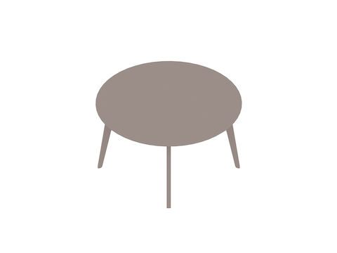 A generic rendering - Dalby Conference Table–Round