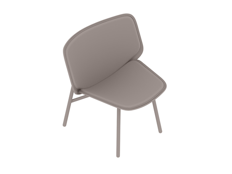 A generic rendering - Dapper Lounge Chair