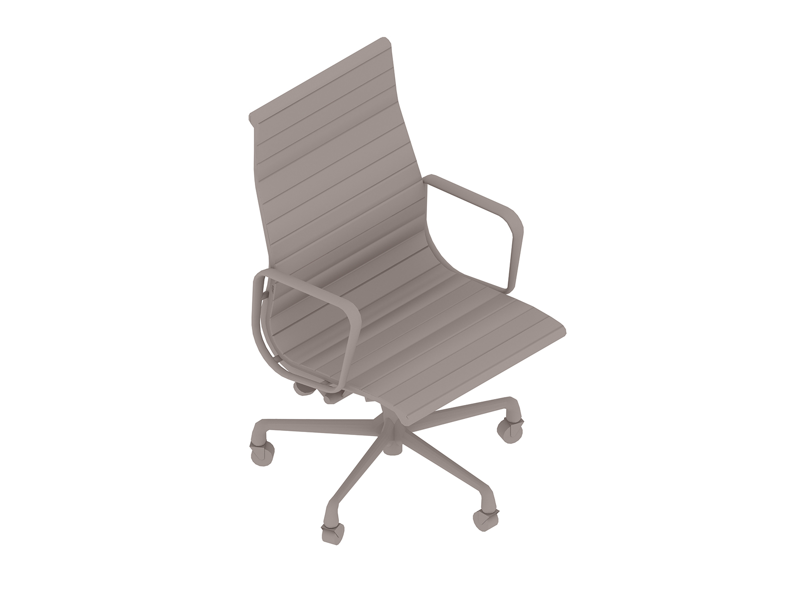 A generic rendering - Eames Aluminum Group Chair–Executive
