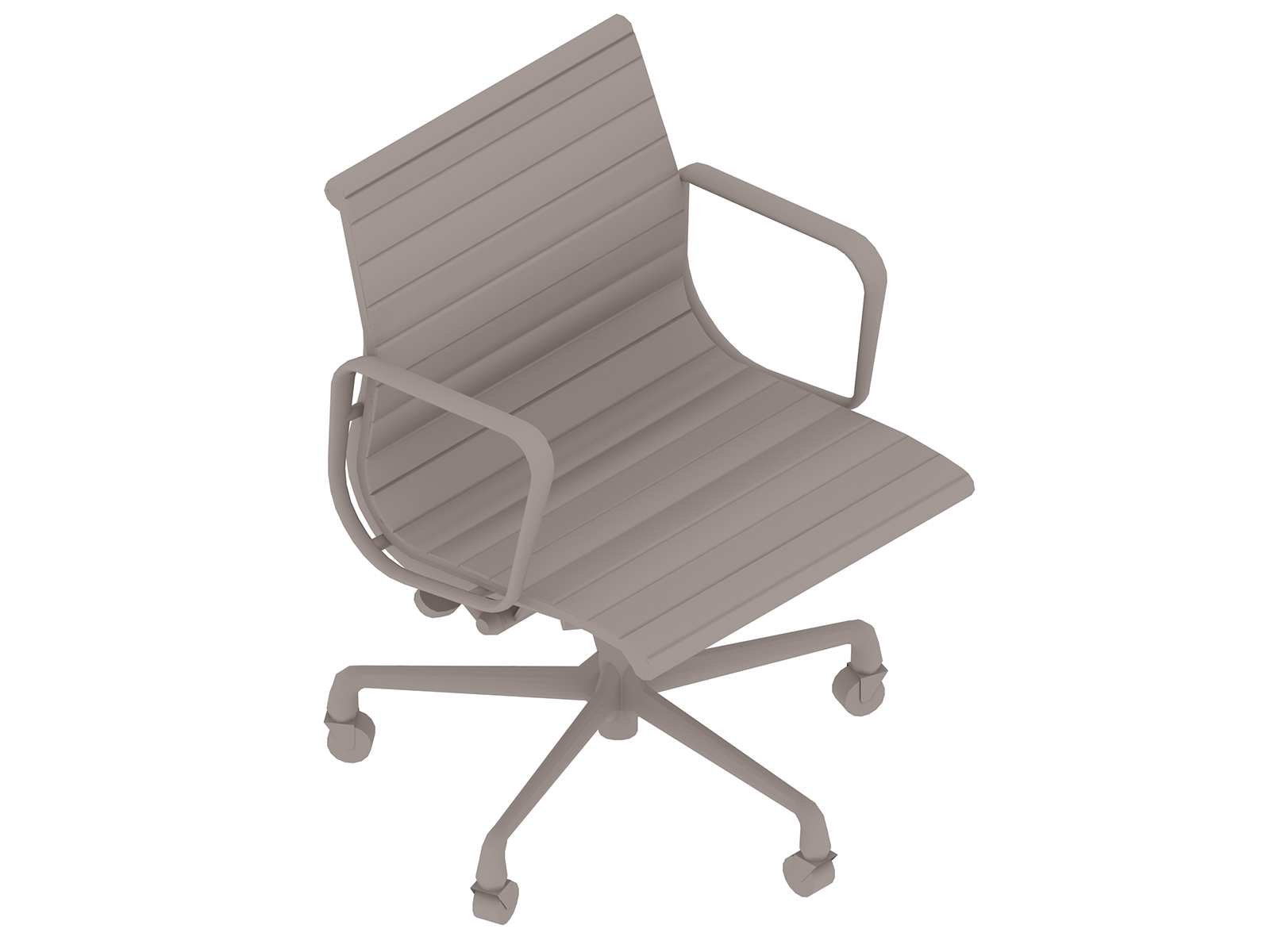 A generic rendering - Eames Aluminum Group Chair–Management–With Arms