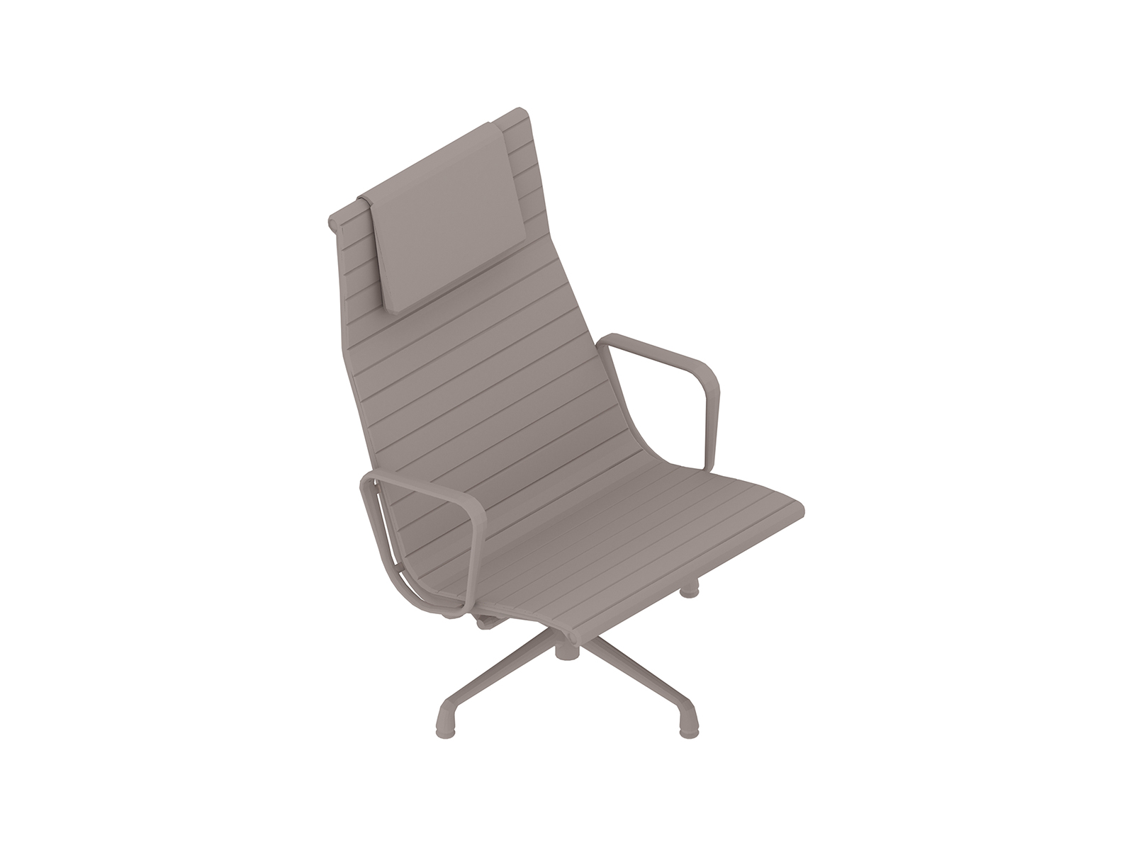 A generic rendering - Eames Aluminum Group Lounge Chair