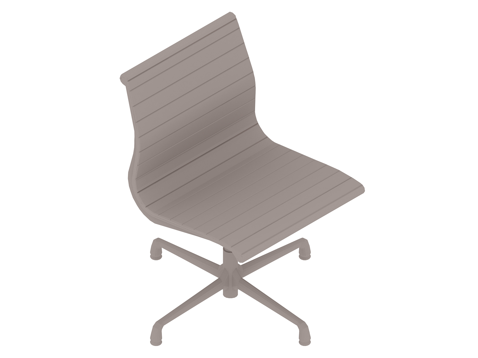 A generic rendering - Eames Aluminum Group Side Chair–Armless