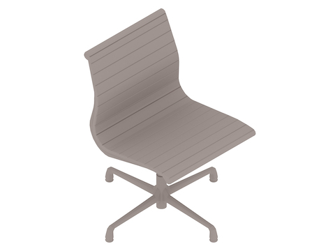 A generic rendering - Eames Aluminium Group Side Chair–Armless