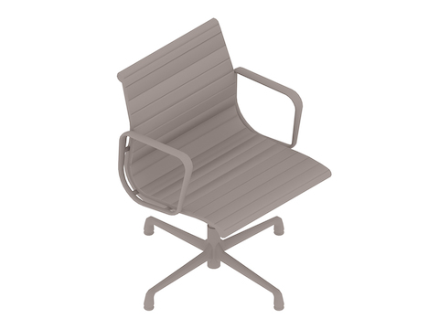 A generic rendering - Eames Aluminium Group Side Chair–With Arms
