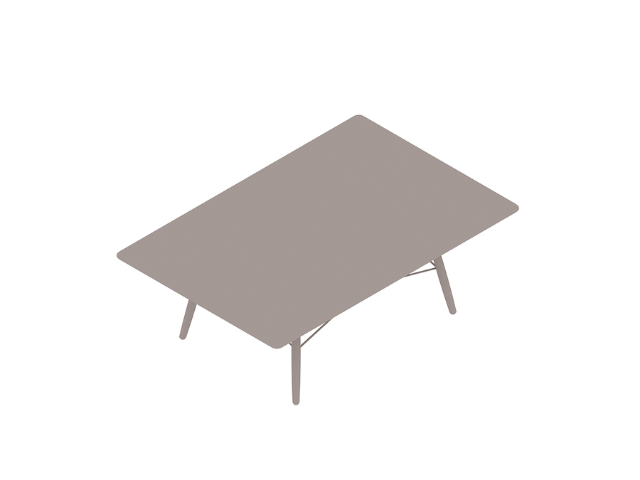 A generic rendering - Eames Coffee Table–Rectangular