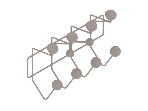 A generic rendering - Eames Hang-It-All