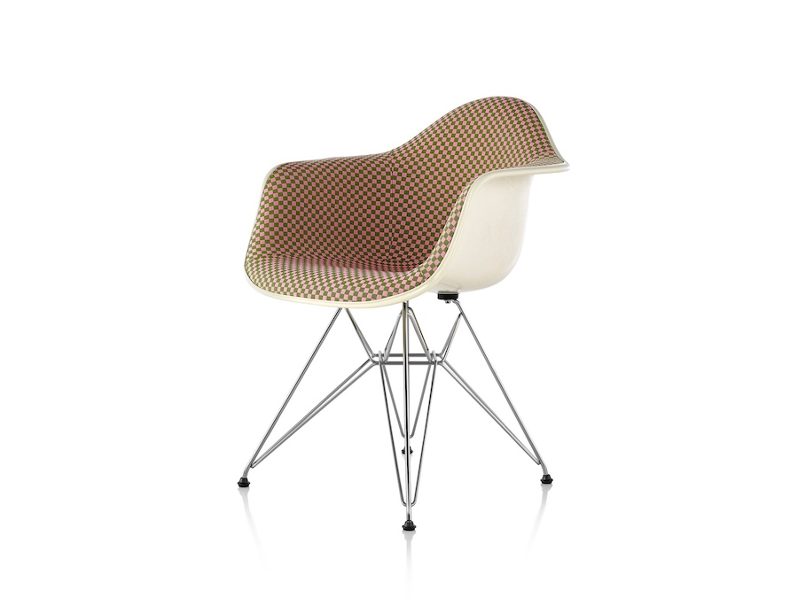 Eames Molded Fiberglass Armchair–Wire Base–Fully ...